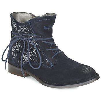 kengät Naiset Bootsit Bugatti LEEALE Laivastonsininen
