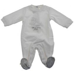 vaatteet Lapset Jumpsuits / Haalarit Chicco  Valkoinen