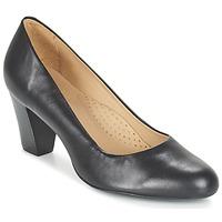 kengät Naiset Korkokengät Hush puppies ALEGRIA Black