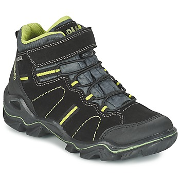 kengät Pojat Bootsit Primigi JACKSON Black / Green