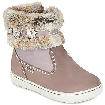 kengät Tytöt Bootsit Primigi MARINA-E BEIGE / Pink