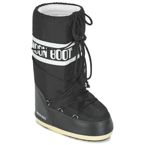 kengät Talvisaappaat Moon Boot MOON BOOT NYLON Black