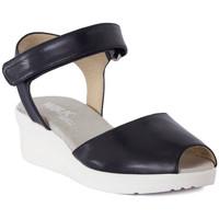 kengät Naiset Sandaalit ja avokkaat Melluso SANDALO ARC NOTTE Blu