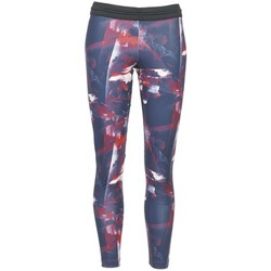 vaatteet Naiset Legginsit adidas Originals FLOWER TIGHT Blue / Pink