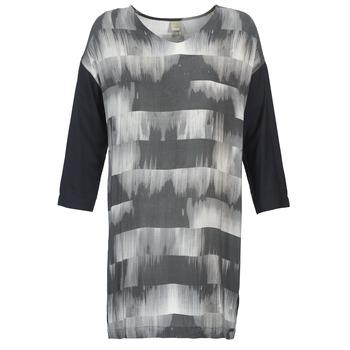 vaatteet Naiset Lyhyt mekko Bench CRISP Black / Grey