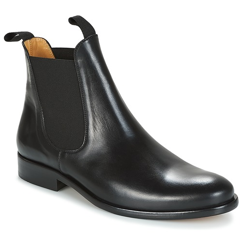 kengät Miehet Bootsit Brett & Sons LOUVAL Black