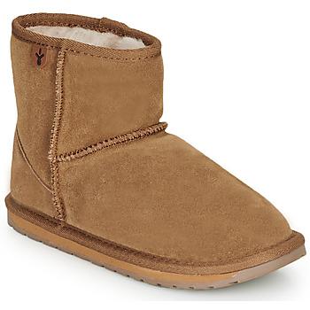 kengät Tytöt Bootsit EMU WALLABY MINI Vihreä multi wf sde