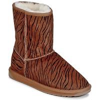 kengät Naiset Bootsit EMU STINGER FUR LO Brown