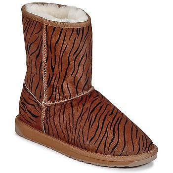 kengät Naiset Bootsit EMU STINGER FUR LO Ruskea