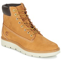 kengät Naiset Korkeavartiset tennarit Timberland KENNISTON 6IN LACE UP Beige