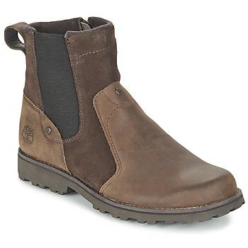 kengät Lapset Bootsit Timberland ASPHALT TRAIL CHELSEA Brown