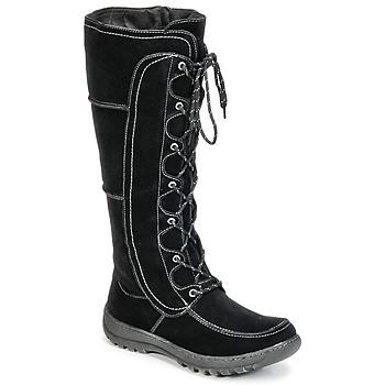 kengät Naiset Saappaat Wildflower MORIA Black
