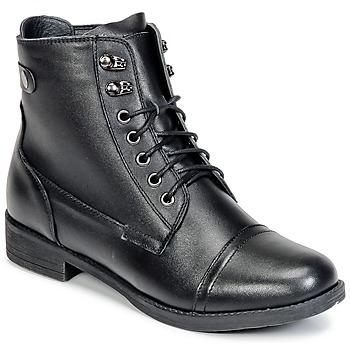 kengät Naiset Bootsit Wildflower BOMBAY Black