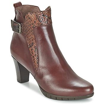 kengät Naiset Nilkkurit Wonders SAVODIA Brown