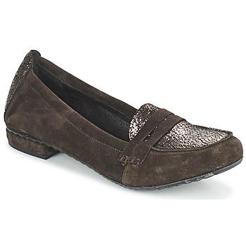 kengät Naiset Mokkasiinit Regard REMAVO Brown
