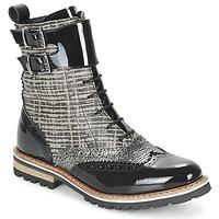 kengät Naiset Bootsit Regard RIFADO Grey / Black