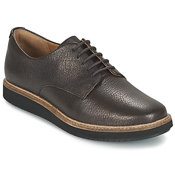 kengät Naiset Derby-kengät Clarks GLICK DARBY Brown