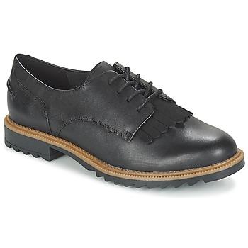 kengät Naiset Derby-kengät Clarks GRIFFIN MABEL Black