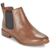 kengät Naiset Bootsit Clarks TAYLOR SHINE Brown