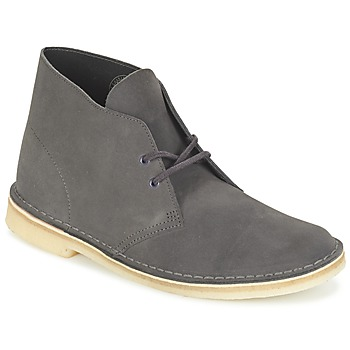 kengät Miehet Bootsit Clarks DESERT BOOT Grey