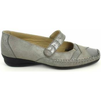 kengät Naiset Balleriinat Boissy Ballerine Lunel Gris Beige Harmaa