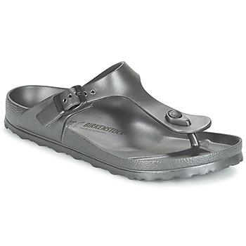 kengät Naiset Varvassandaalit Birkenstock GIZEH EVA Anthracite / Metallinen