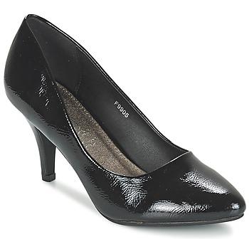 kengät Naiset Korkokengät Spot on MIENE Black