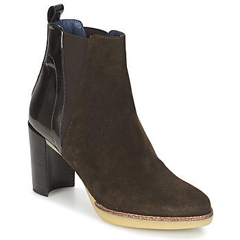 kengät Naiset Nilkkurit Spiral LUPE-1.3 Brown