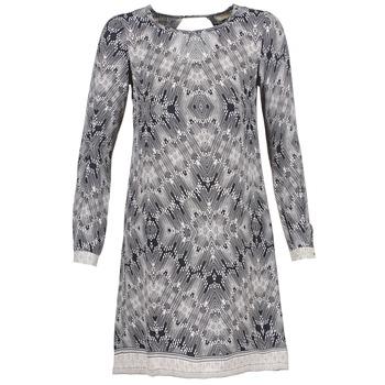 vaatteet Naiset Lyhyt mekko Cream BARBRA Laivastonsininen / White