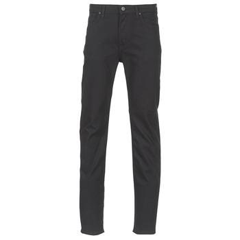 vaatteet Miehet Slim-farkut Lee RIDER Black