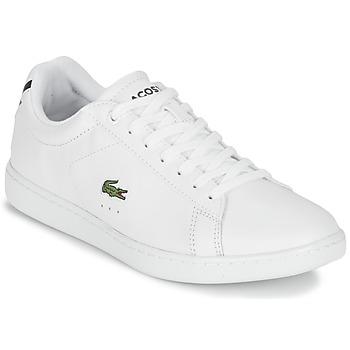 kengät Naiset Matalavartiset tennarit Lacoste CARNABY EVO BL 1 Valkoinen