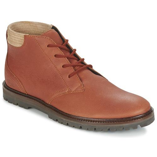 kengät Miehet Bootsit Lacoste MONTBARD CHUKKA 416 1 Ruskea