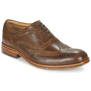 kengät Miehet Derby-kengät Hudson KEATING CALF Ruskea