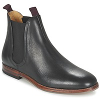 kengät Miehet Bootsit Hudson TAMPER CALF Black