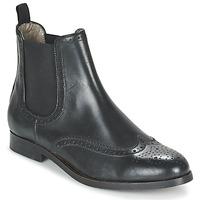 kengät Naiset Bootsit Hudson ASTA CALF Musta