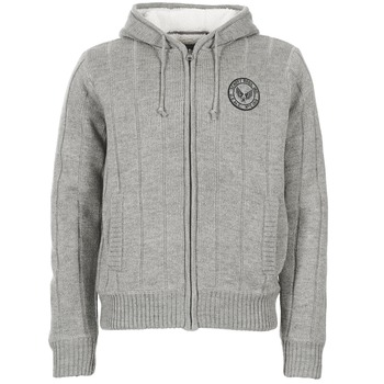 vaatteet Miehet Neuleet / Villatakit Schott DUNLIN Grey