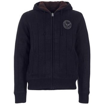 vaatteet Miehet Neuleet / Villatakit Schott DUNLIN Black
