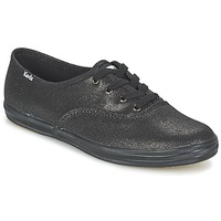 kengät Naiset Matalavartiset tennarit Keds CH METALLIC CANVAS Black
