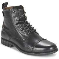 kengät Miehet Bootsit Levi's EMERSON LACE UP Black