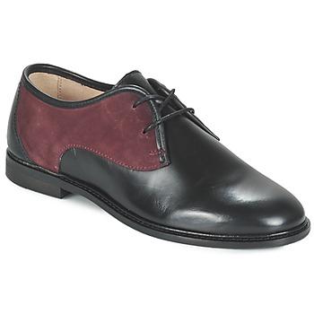 kengät Naiset Derby-kengät M. Moustache EUGENIE Black / Bordeaux