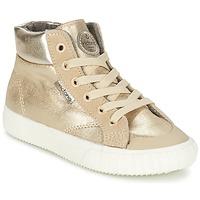 kengät Tytöt Korkeavartiset tennarit Victoria BOTA METALIZADA PU Gold