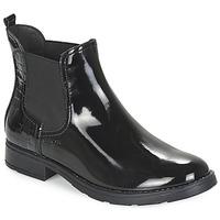 kengät Tytöt Bootsit Geox SOFIA Black