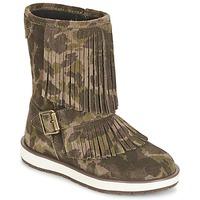 kengät Tytöt Bootsit Geox NOHA Green