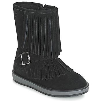 kengät Tytöt Bootsit Geox NOHA Black