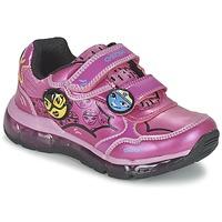 kengät Tytöt Matalavartiset tennarit Geox ANDROID GIRL Pink