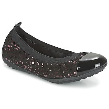 kengät Tytöt Balleriinat Geox PIUMA BALLERINE Black