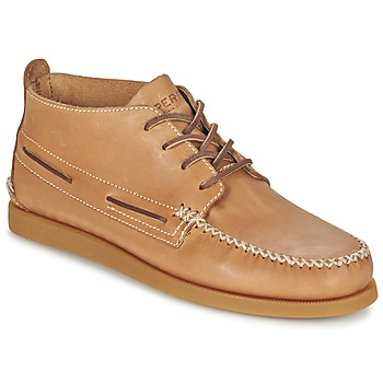 kengät Miehet Bootsit Sperry Top-Sider A/O WEDGE CHUKKA LEATHER BEIGE