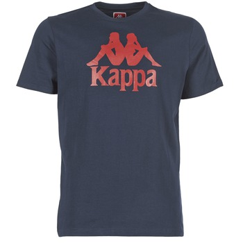 vaatteet Miehet Lyhythihainen t-paita Kappa ESTESSI Laivastonsininen