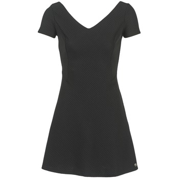 vaatteet Naiset Lyhyt mekko Les P'tites Bombes GRANADU Black