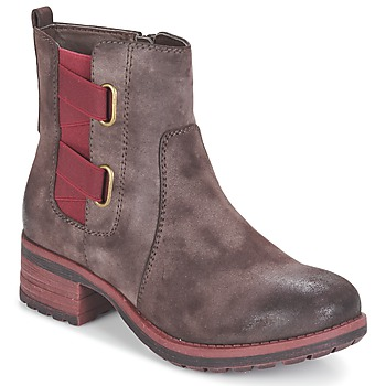 kengät Naiset Bootsit Rieker ZINETTE Brown